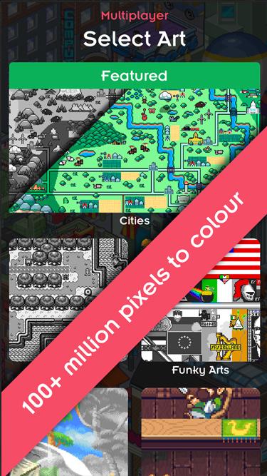 Pixx Color by Number Pixel Art